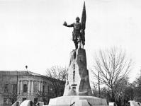 Памятник Ермаку. Площадь Ермака