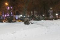 Памятник казаку на Платовском