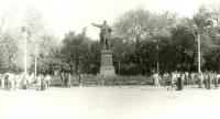 Памятник Ленину на Платовском проспекте