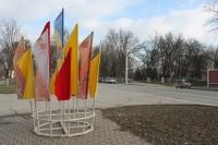 Подготовка города к проносу Олимпийского огня. Проспект Баклановский