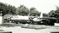 Самолет в детском парке