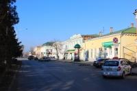 Платовский проспект. Вид в сторону Московской