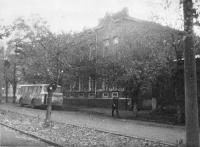 Улица Дубовского, 5. Здание горвоенкомата