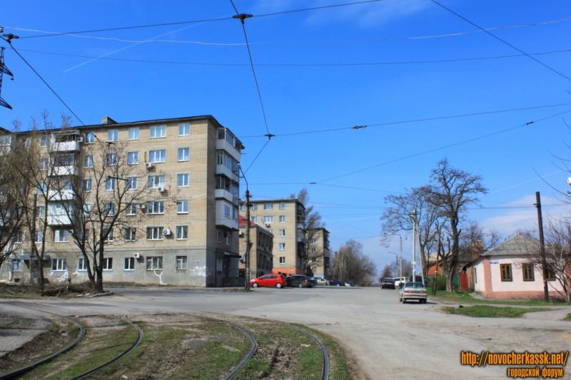 Перекресток улиц Щорса и Крылова