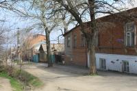 Улица Островского. Вид с улицы Щорса