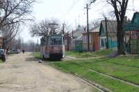 Трамвай на улице Щорса
