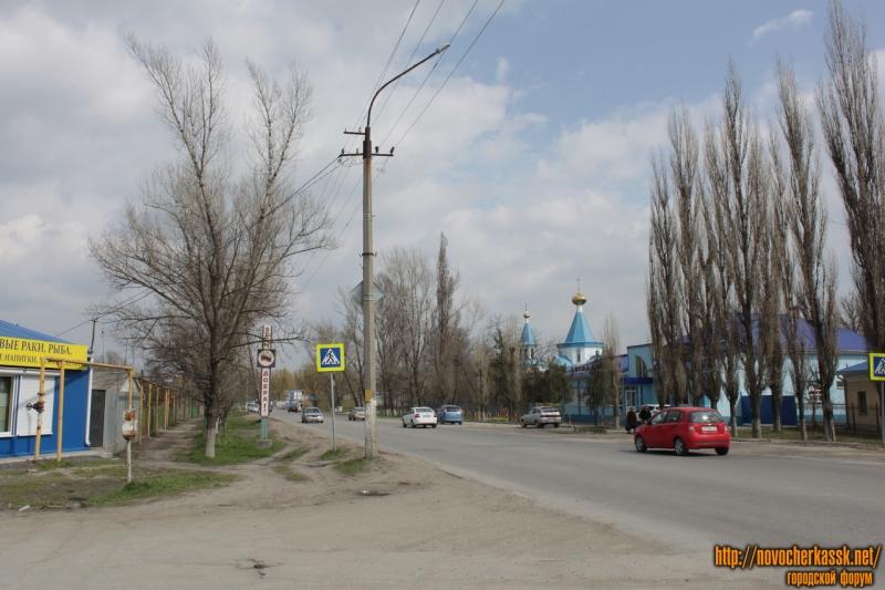 Улица Гагарина. Вид от улицы Луначарского