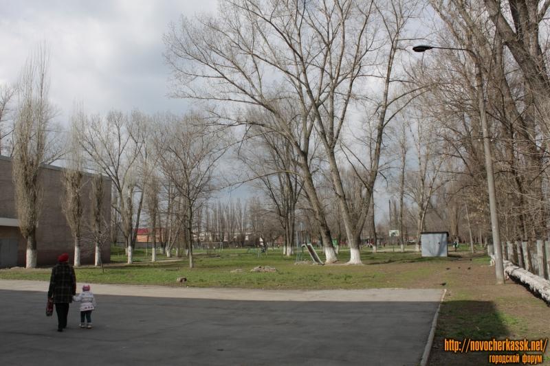Спортивная площадка школы №25