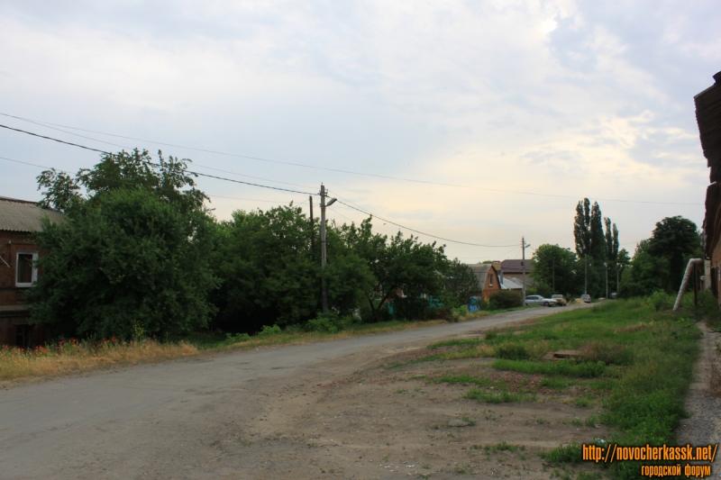 Улица Щорса. Вид с улицы Ларина