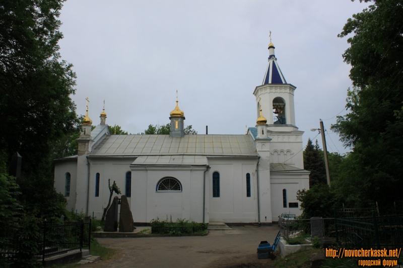 Храм на Новочеркасском кладбище (старом)