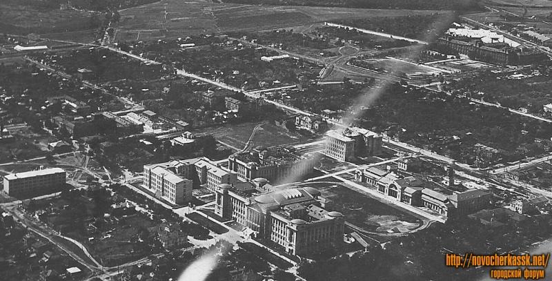 Комплекс зданий НИИ (НПИ) с самолета, 1935-36 г.