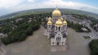 Собор в Новочеркасске. Вид с воздуха