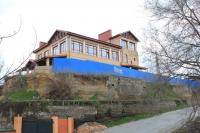 Спуск Герцена. Строительство на месте бывшего ресторана «Кавказ»