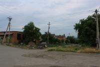 Улица Ларина. Вид с улицы Щорса