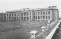 Здание химфака НПИ , вид со двора