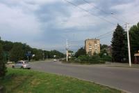 Проспект Баклановский. Вид с площади Юбилейной