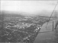 Вид НИИ(НПИ) и западной части города с самолета 1935-36 г.