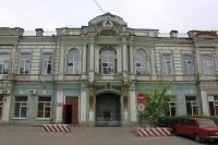 Проспект Платовский. Военный госпиталь