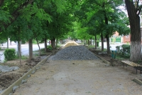 Ремонт аллеи на Атаманской