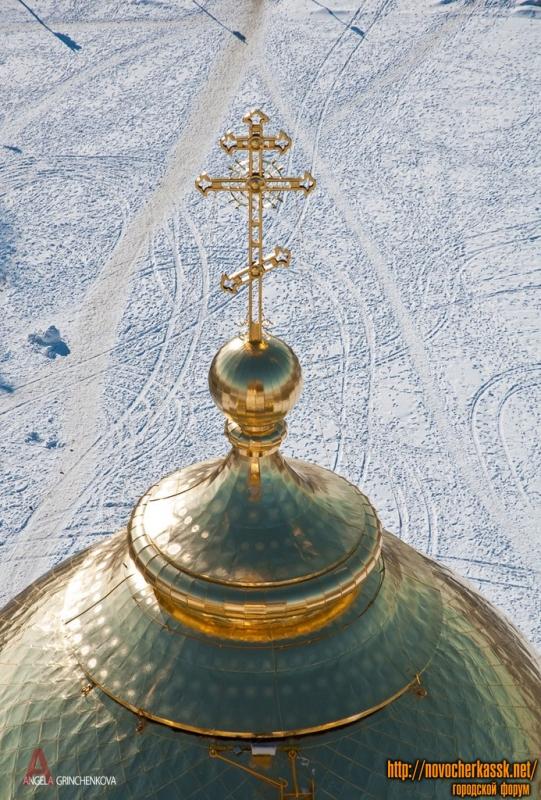 Купол собора в Новочеркасске
