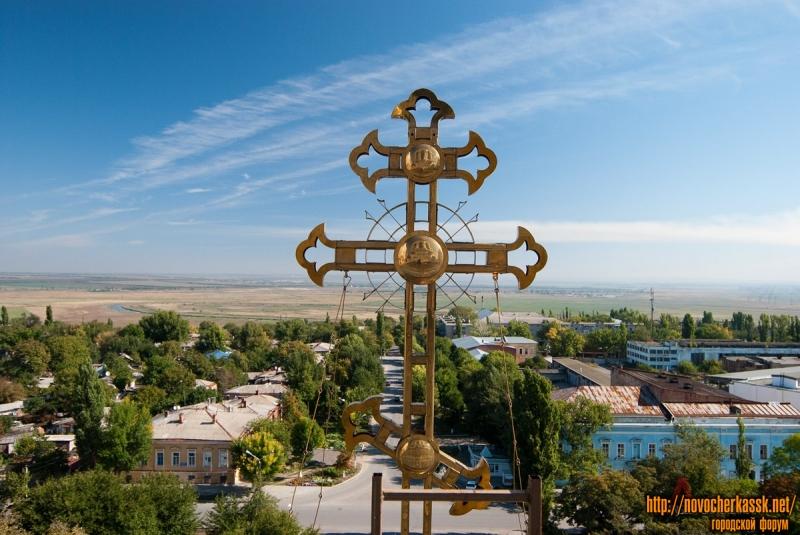 Крест собора в Новочеркасске