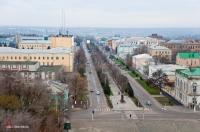 Проспект Платовский. Вид с собора