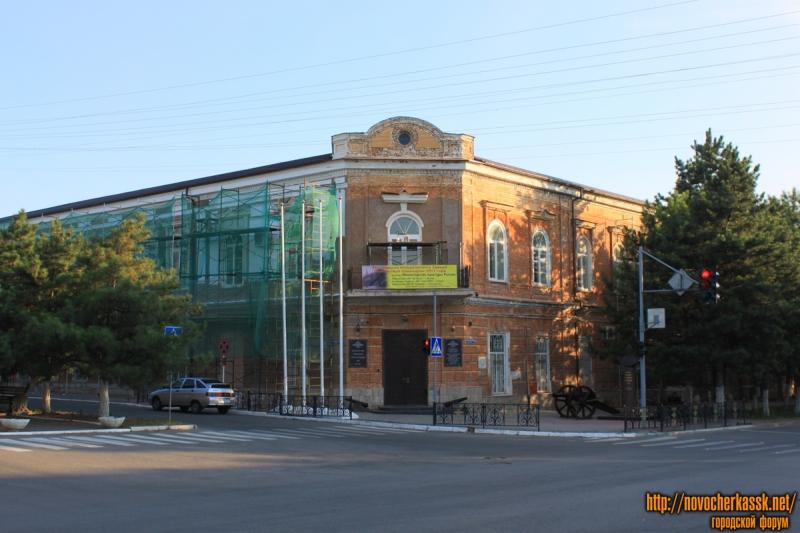 Реставрация исторического здания учительской семинарии 1913 года (угол Пушкинской и Платовского)