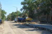Расширение стоянки на улице Троицкой