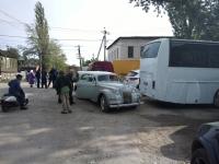 Съемки фильма «Молодая гвардия» в Новочеркасске. Инфекционная больница