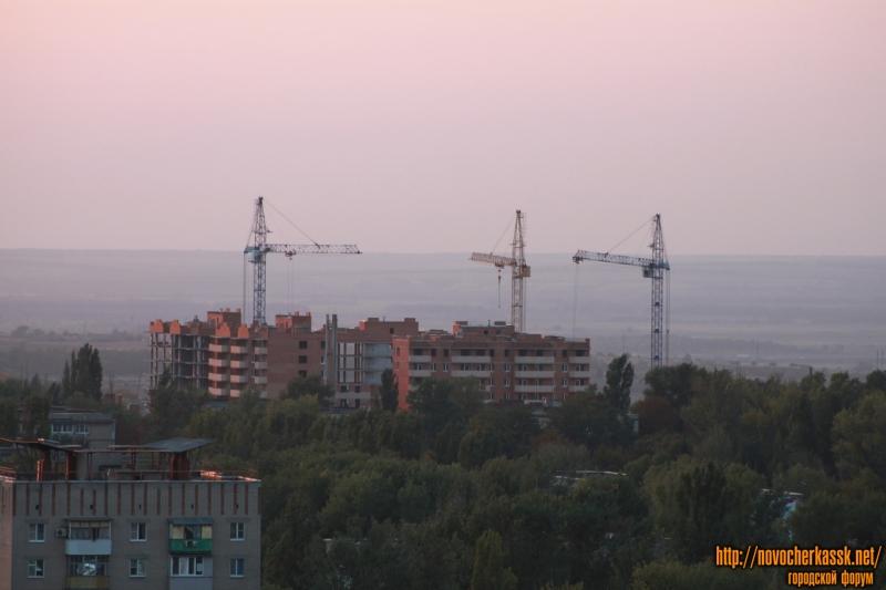 Строительство ЖК «Магнитный» за Океем