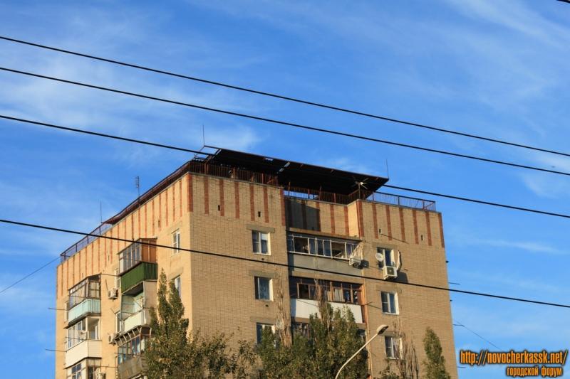 Крыша 9-тиэтажки на Баклановском
