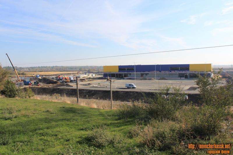 Строительство супермаркета «Лента» в Новочеркасске