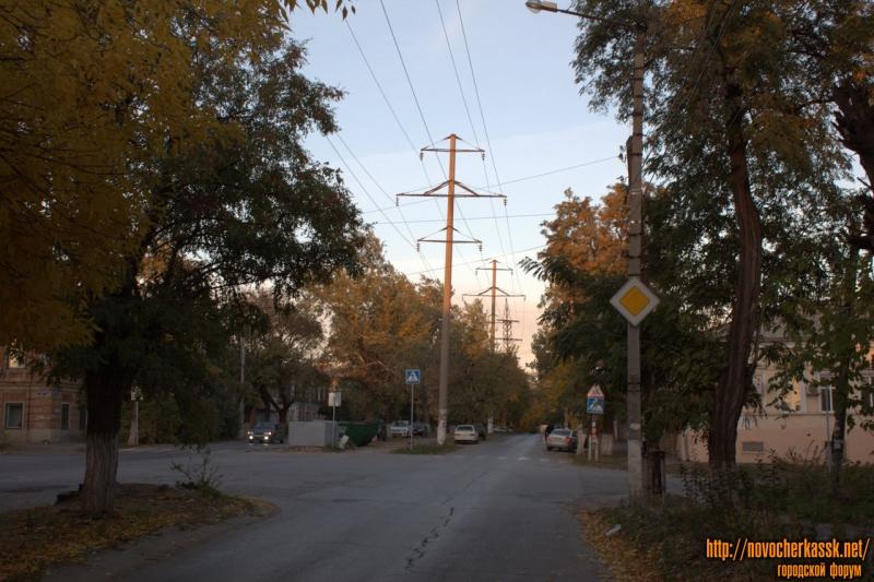 Перекрёсток Александровской и улицы Орджоникидзе