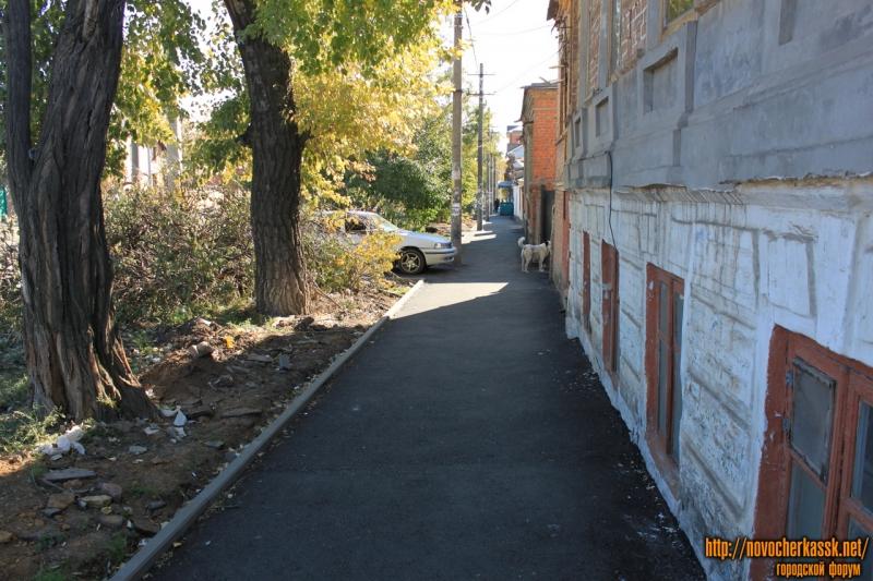 Переулок имени Галины Петровой