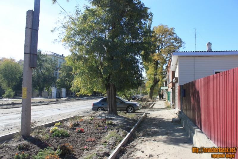 Ремонт на улице Троицкой