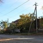 Улица Комитетская. Вид с улицы Грекова в сторону реки