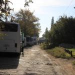 Съемки фильма «Молодая Гвардия» на Грекова