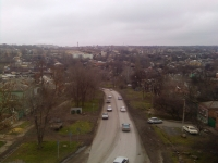 Платовский проспект. Вид с триумфальной арки