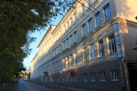 Улица Комитетская. Здание школы №1