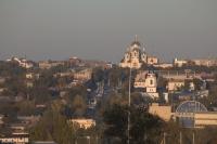 Собор и Михайловская церковь. Проспект Платовский