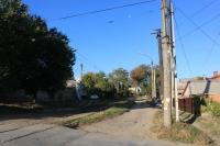 Вид на Щорса с улицы Ленгника