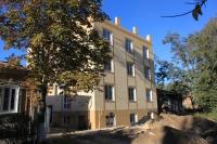Строительство на улице Шумакова