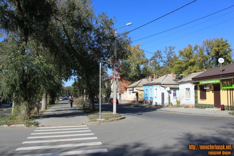 Улица Пушкинская. Вид с площади Левски