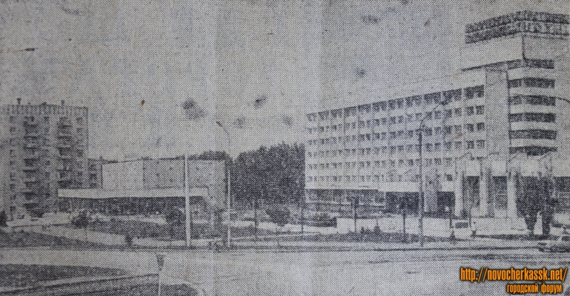 Площадь Юбилейная. 1980 год