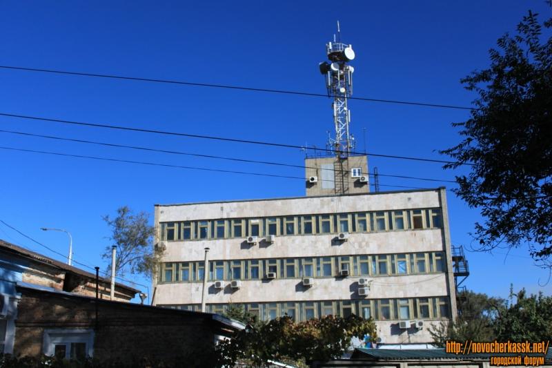 Проспект Баклановский, 25. Узел электросвязи. Вид с Пушкинской