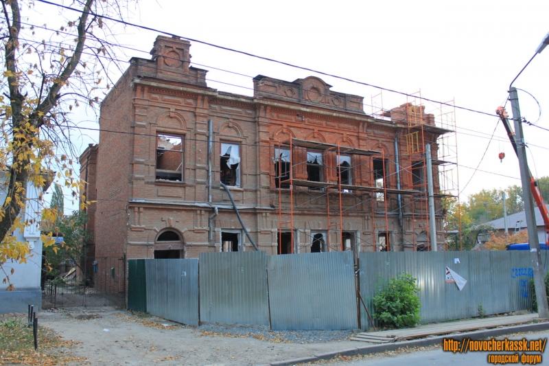 Ремонт бывшей больницы на Просвещения, 87Б