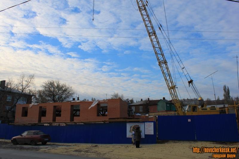 Строительство многоэтажки в переулке Путиловском, 36