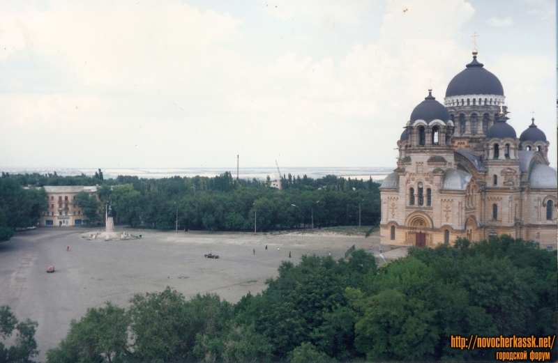 Соборная площадь, Собор середина 90-х