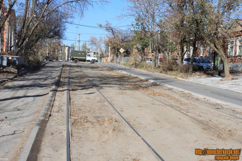 Переулок Галины Петровой. Реконструкция дороги