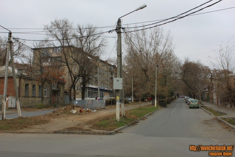 Улица Дубовского. Вид с улицы Пушкинской